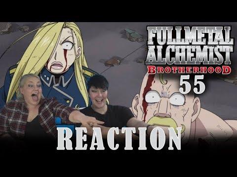 Fullmetal Alchemist Brotherhood 55 THE ADULTS' WAY OF LIFE Reaction