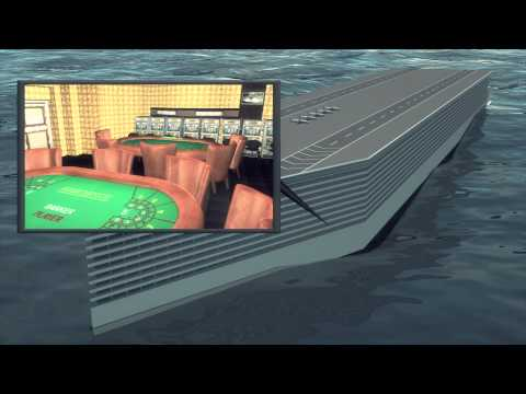 World's first floating city: Freedom Ship to sail around the world