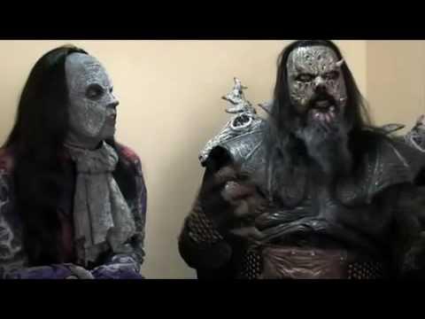 Lordi Interview (Lordi and Awa)