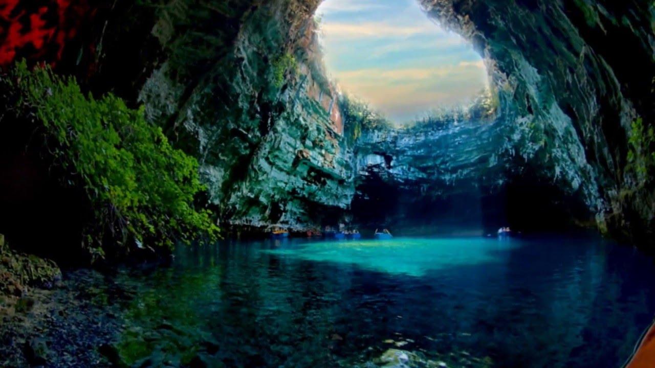 Concept Art Landscape Cave River
