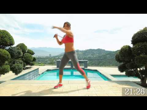 resistance bands workout equipment / excercise routine