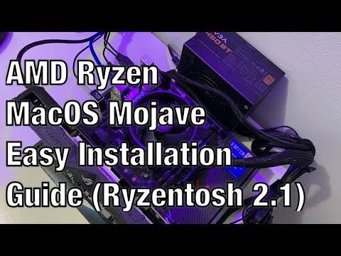 AMD Ryzen MacOS Mojave Easy Installation Guide (Ryzentosh 2 1)