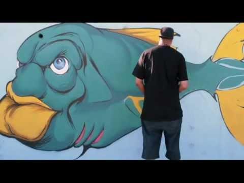CHALI 2NA - GRAFF TIME @ BONDI BEACH (JAN 2013)