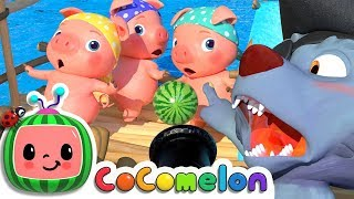 Three Little Pigs 2 | CoCoMelon Nursery Rhymes & Kids Songs