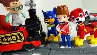 Щенячий Патруль нові серії Ромео Паровозик Розвиваючі мультики відео для дітей Іграшки Paw Patrol