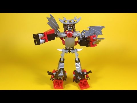 Kre-O Transformers Micro-Changers Combiners OBSIDIAN A7829 Review - Unboxing, Build & Play