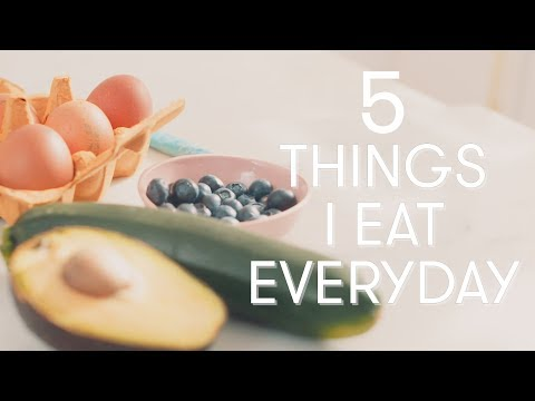 5 Foods I Eat Every Day | Madeleine Shaw