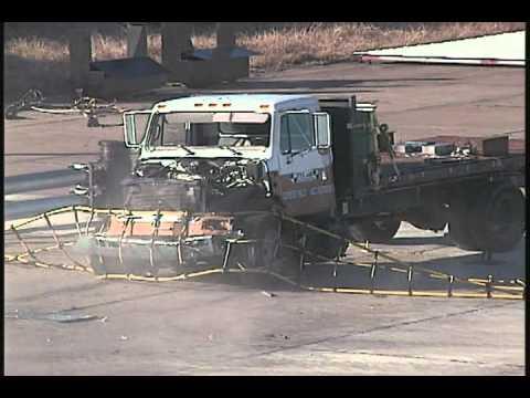 Vehicle Crash Test Ground Retractable Automobile Barrier