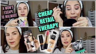 WALMART MAKEUP TRY-ON: Classics, New Loves & Just Plain BAD