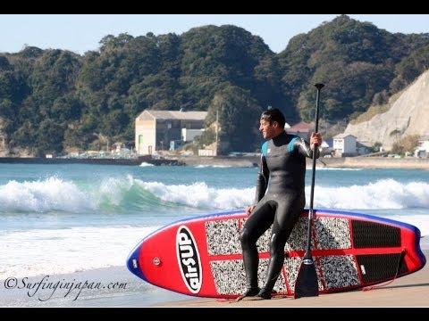 SUP Tour Japan - Chiba - Japan -  千葉 - 守谷海岸 - 部原 - 御宿 - マリブ