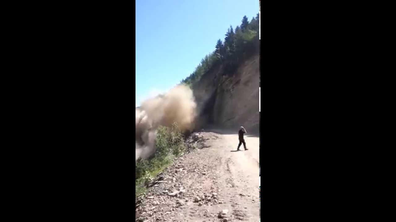 Оползни гор в дагестане видео