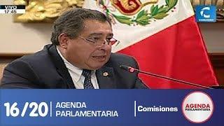 Sesión Comisión de Constitución 16/20 (17/07/19)