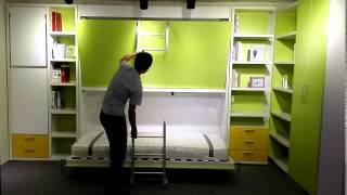 Hidden Bunk Wall Bed Murphy Bed