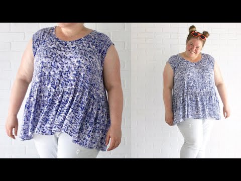 Sew A Peplum Shirt Or Sew A Dress