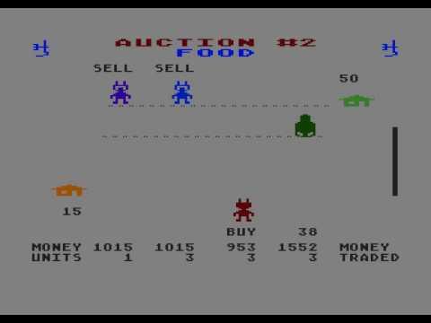 M.U.L.E. gameplay (beginner) - Atari XL