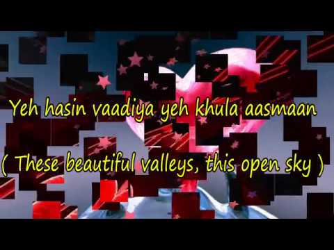 """Yeh Haseen Vaadiyan"" Song With Lyrics And English Translation"
