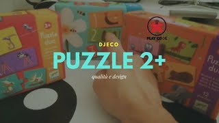 Playcool - Un'occhiata ai puzzle della Djeco
