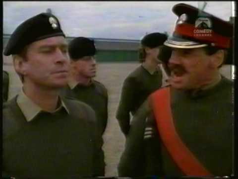Army Square Bashing John Cleese skit
