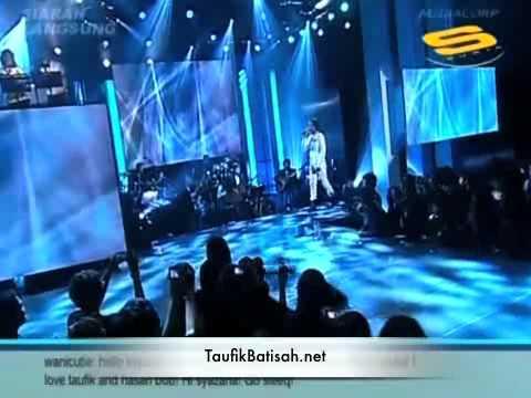 Taufik Batisah @ Anugerah.Hitz - Nafasku & KepadaN