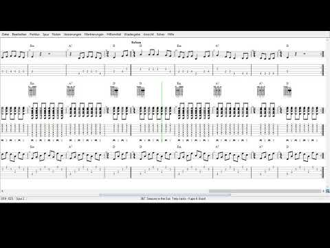 Terry Jacks -  Seasons In The Sun   Tabs