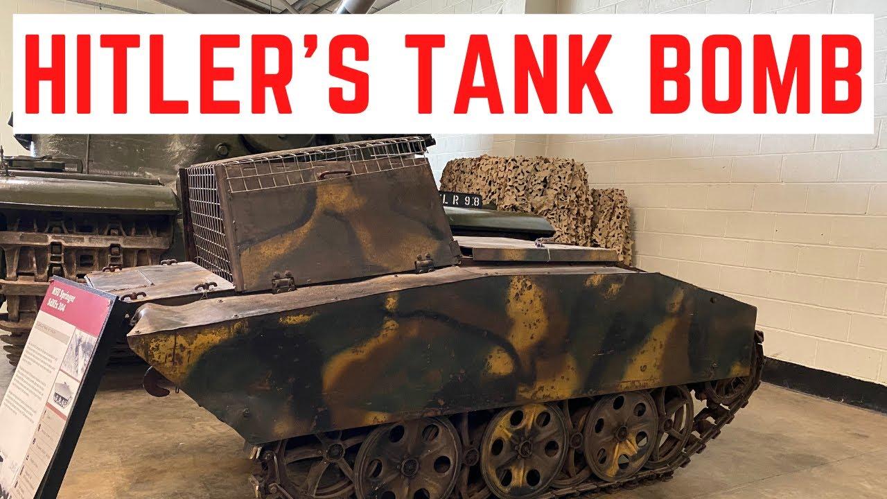 Hitler's DEVASTATING Tank Bomb - NSU Springer