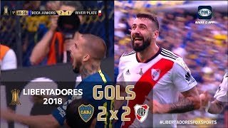 Boca Juniors 2 x 2 River Plate - Final Libertadores 2018 - Fox Sports HD⁶⁰