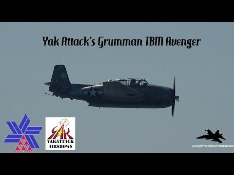 Canadian International Air Show 2016- Yak Attack's Grumman TBM Avenger