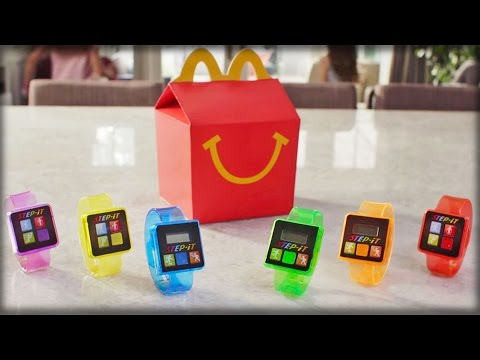 MCDONALD'S NEW HAPPY MEAL TOY MUST BE SOME KIND OF SICK JOKE