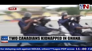 Two Canadians Kidnapped In Ghana / ANN News 11AM / June 7, 2019