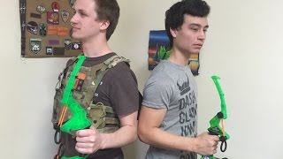 Biggest Nerf Gun Unboxing EVER!!! (Comedy Spoof)