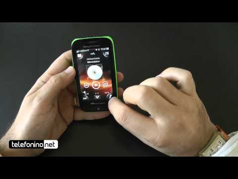 Sony Ericsson Mix Walkman videoreview da Telefonino.net