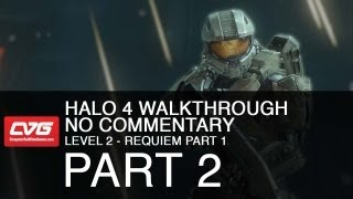 Halo 4 Level 2 - Requiem part 1 (let's play, no commentary)