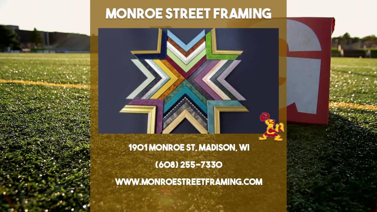 Monroe Street Framing | Edgewood High School Supporter | :15 - YouTube