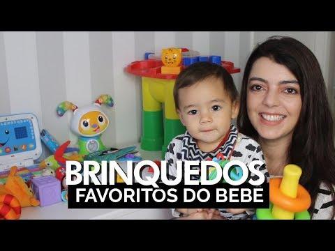 Brinquedos Favoritos Do Bebê (0 A 12 Meses) | Lia Camargo