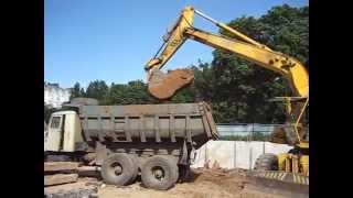 Работа строительной техники компании Протон(, 2014-07-29T16:44:26.000Z)