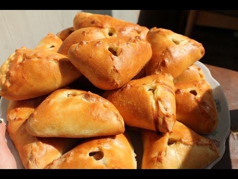 Эчпочмаки \ Учпучмаки \.Самые вкусные Татарские Треугольники -пирожок  с мясом и картошкой. Patty