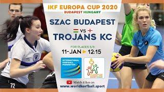 IKF ECup 2020 1908 SZAC KSE - Trojans KC