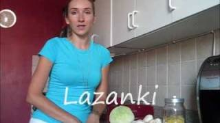 Polish Food - Lazanki Recipe- Pasta With Meat & Cabbage - Polish Cuisine