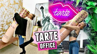 Visiting the TARTE OFFICES in New York City! CRAZY OFFICE TOUR!