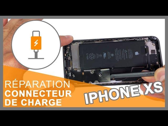 Réparation connecteur de charge iPhone XS