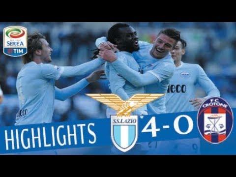 Lazio - Crotone 4-0 - Highlights - Giornata 18 - Serie A TIM 2017/18