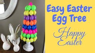 Easy Easter Egg Tree Diy🌷🐰🌷 Spring Easter Egg Topiary Centerpiece