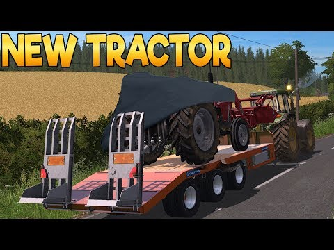 New Tractor! West Coast - Farming Simulator 17 -  Ep.10 (with Wheel Cam)