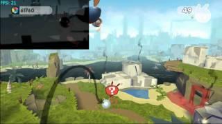 de Blob 2 on Dolphin v2.0 - Nintendo Wii Emulator