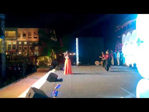 mamatala talli singer yamini performance in cmr college