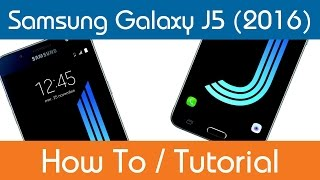 How To Change The Wallpaper Samsung Galaxy J5 Youtube