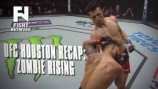 UFC Fight Night Houston Recap: Korean Zombie Back in the Fold