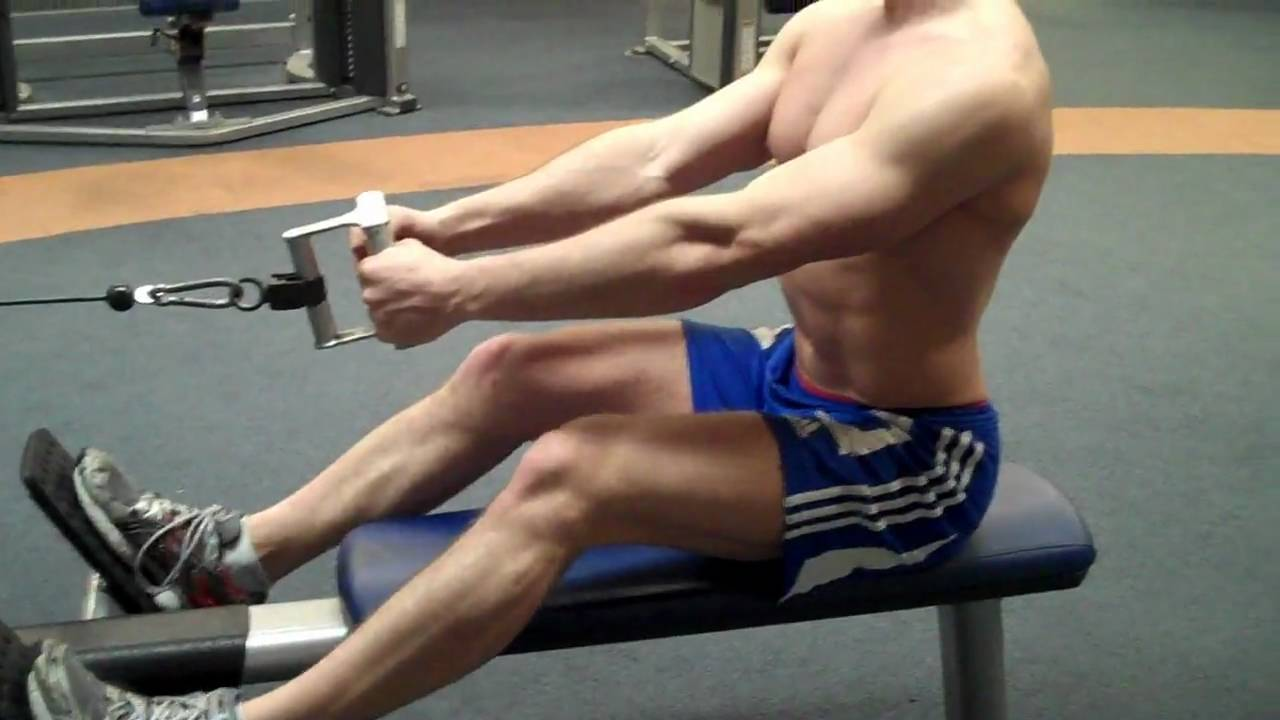 How To: Seated Low Row (LF Cable) - YouTube
