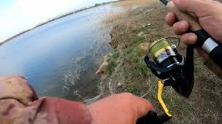 18 Часть 2 Рыбалка с берега в корантин В поисках судака