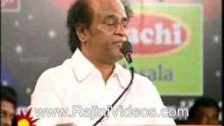 Superstar Rajinikanth Speech at Drama Sangam